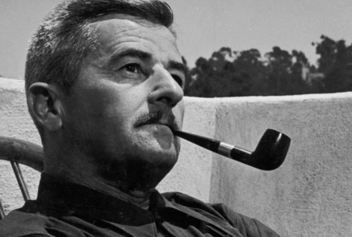 "William Faulkner, autor de ""El ruido y la furia"""