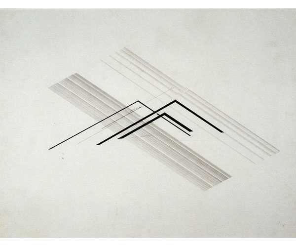 Nasreen Mohamedi - Lines among lines