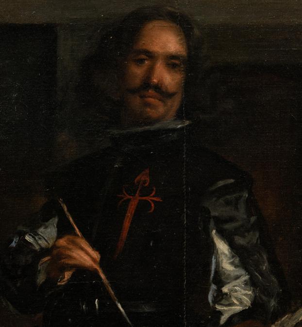 Velázquez en las Meninas