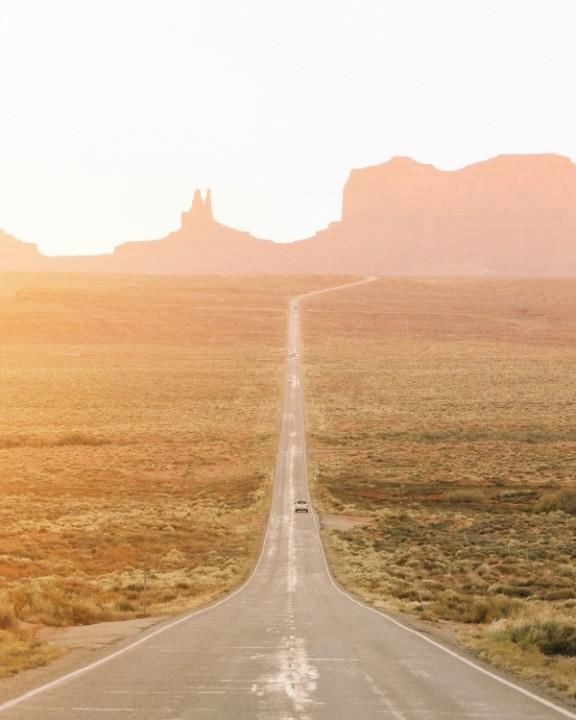 Hello Emilie - Driving through this dessert road