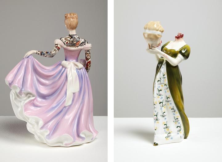Inquietantes figuras de cerámica by Jessica Harrison