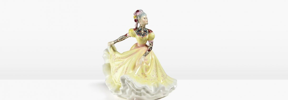 Jessica-Harrison-Tattooed-Princess-Porcelain-Figures