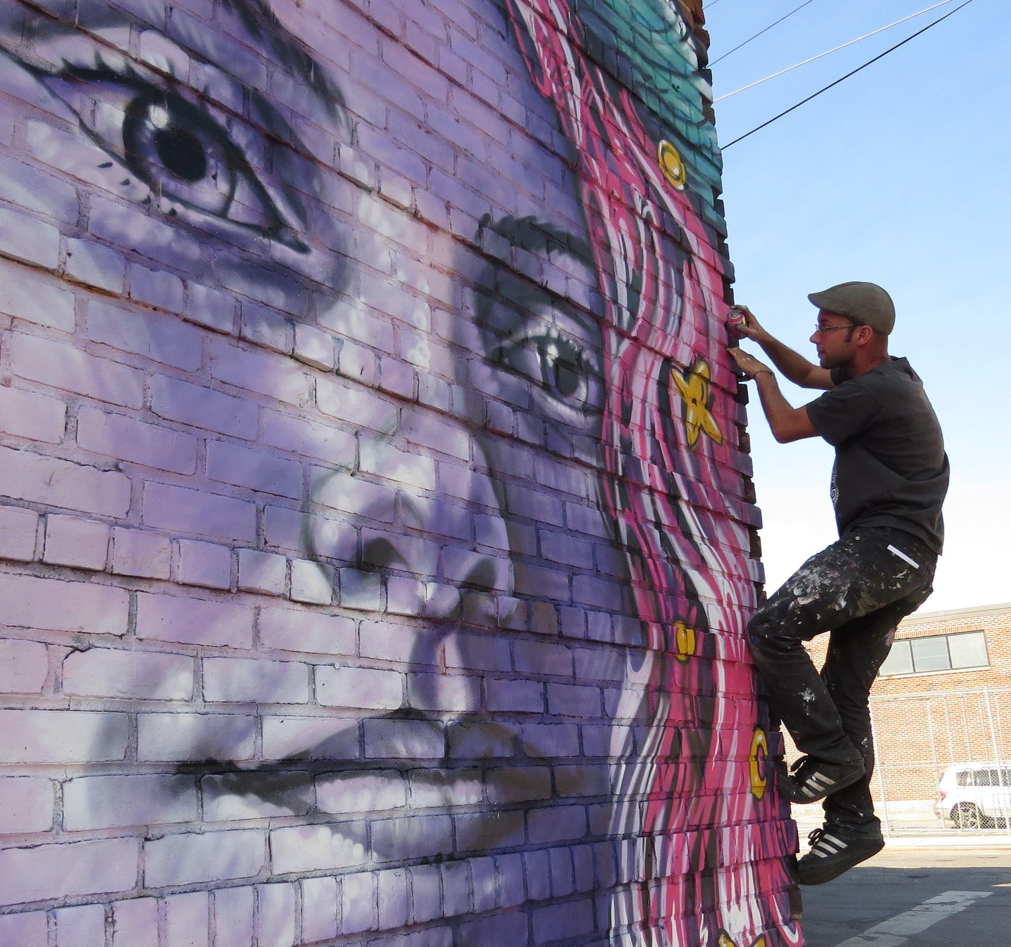 Michel Velt mural 3