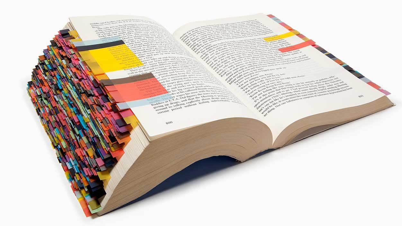 La novela, con centenares de marcadores