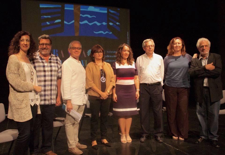 Foto de la rueda de prensa de Mostra Viva del viernes 23 de septiembre.