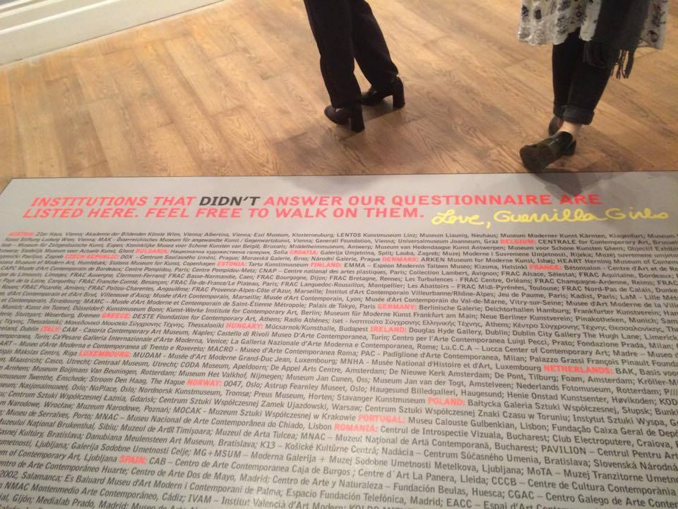 Guerrilla Girls - Carpet