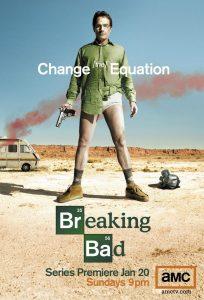 """Cartel serie """"Breaking Bad""""."""