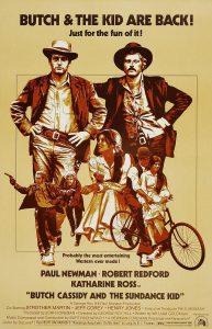 """Cartel película """"Butch Cassidy and the Sundance Kid""""."""