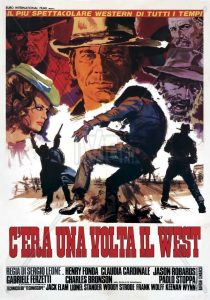 "Cartel película ""Once Upon a Time in the West""."