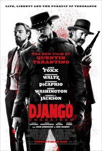 "Cartel película ""Django Unchained"""