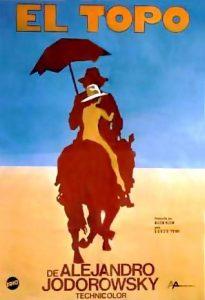 """Cartel película """"El Topo""""."""