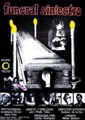 Cartel película Funeral Siniestro