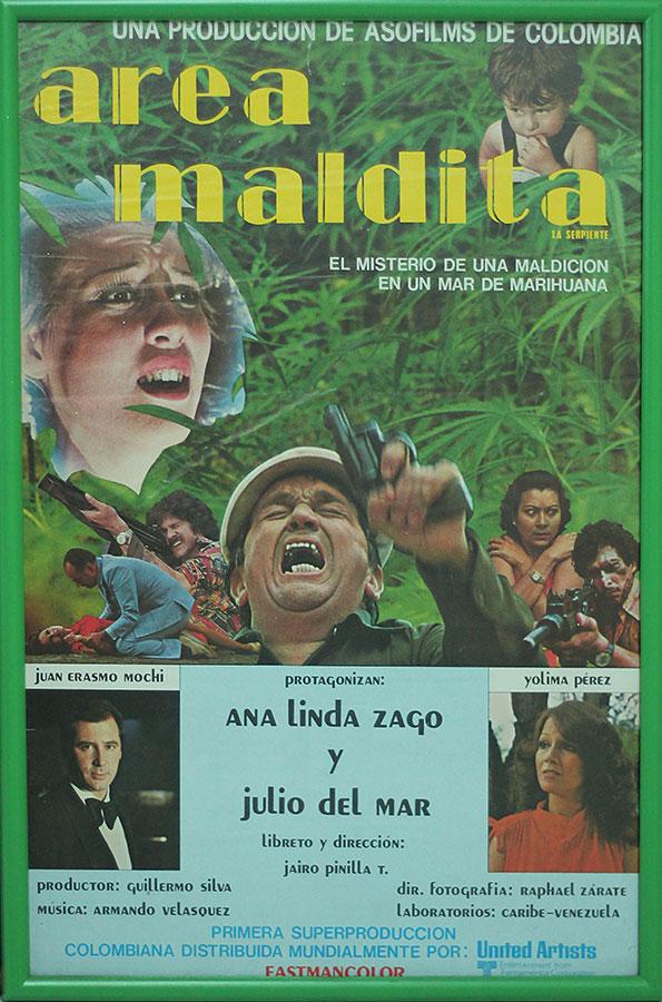 cartel área maldita