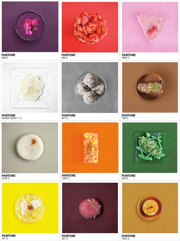 Alison Anselot - Pantone food