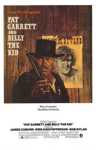 "Cartel película ""Pat Garret and Billy the Kid""."