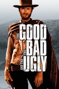 "Cartel película ""The Good, the Bad, and the Ugly""."