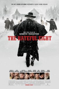 "Cartel película ""The Hateful Eight""."