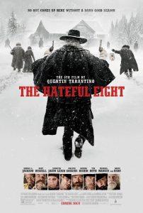 """Cartel película """"The Hateful Eight""""."""