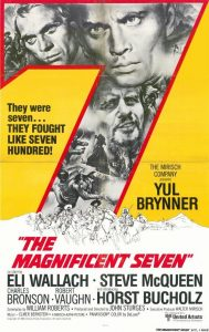 "Cartel película ""The Magnificent Seven""."