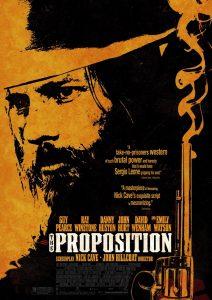 """Cartel película """"The Proposition""""."""