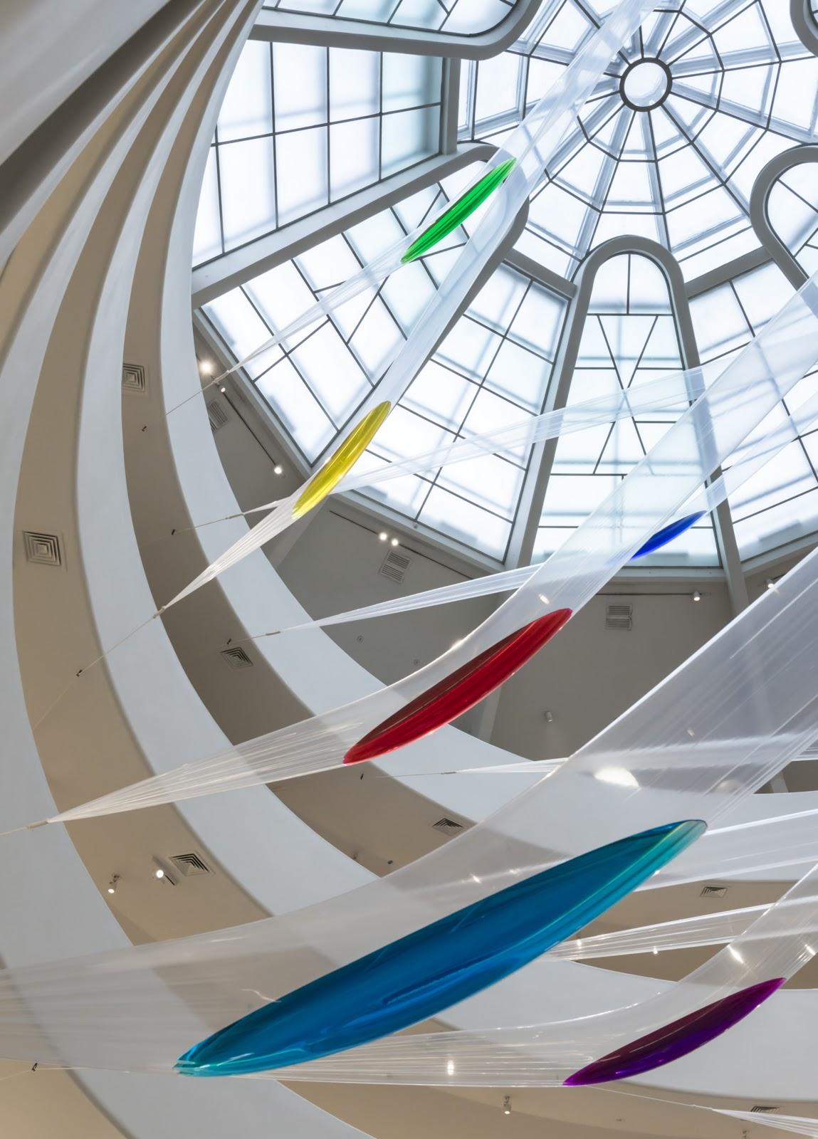 Exposición Gutai en Guggenheim Museum
