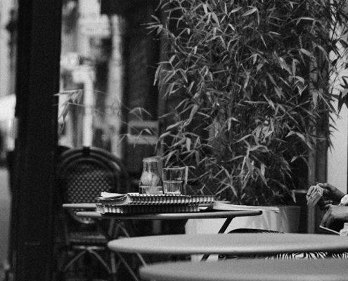 Rue Faubourg-Saint Denis, París.