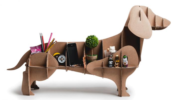 Organizador de objetos perro salchicha de la marca Milimetrado
