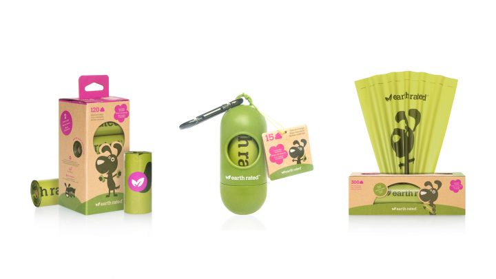 Packaging de bolsas para excrementos Earth Rated