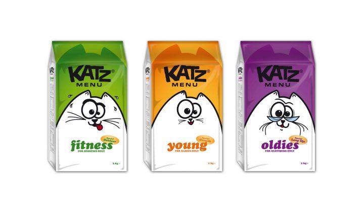 Packaging de comida para gatos