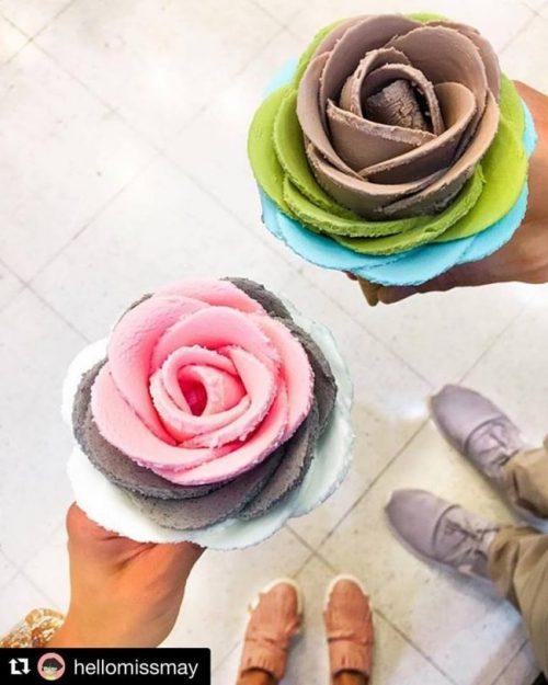 Cucuruchos de helado flor marca i-Cream