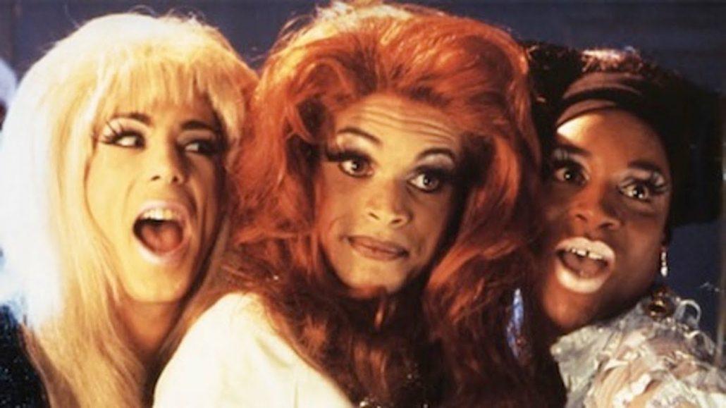 Los personajes principales del film Stonewall.